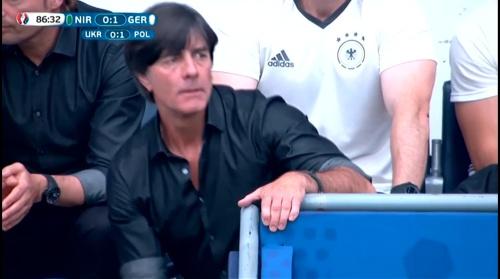 Joachim Löw – Nordirland v Deutschland 2nd half (EM 2016) 9