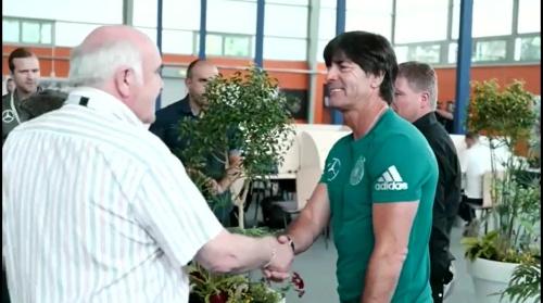 Joachim Löw – Training in Evian 1