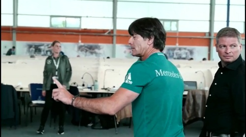Joachim Löw – Training in Evian 2