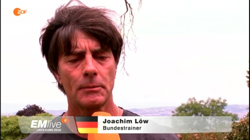 Joachim Löw – ZDF video 25-06-16 2