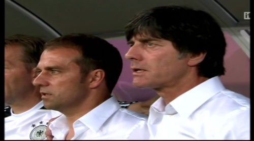 Joachim Löw & Hansi Flick – Denmark v Germany (2012) 1