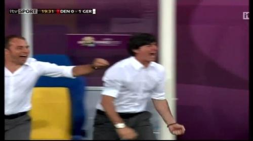 Joachim Löw & Hansi Flick – Denmark v Germany (2012) 3
