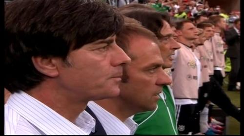 Joachim Löw & Hansi Flick – Germany v Greece 1