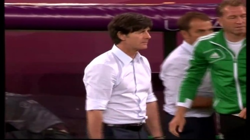 Joachim Löw & Hansi Flick – Germany v Greece 2