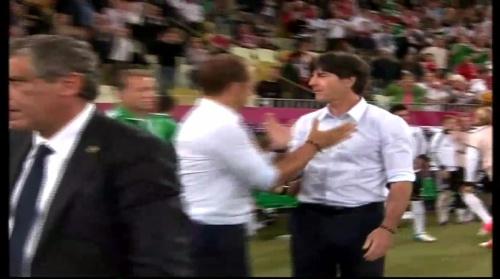 Joachim Löw & Hansi Flick – Germany v Greece 3