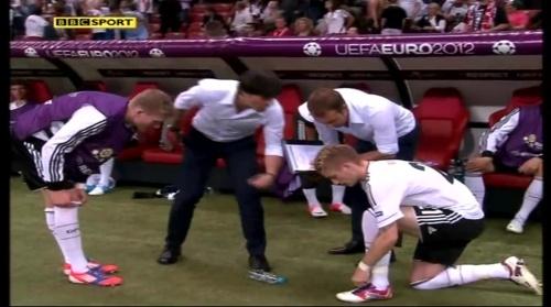 Joachim Löw & Hansi Flick – Germany v Italy (2012) 3
