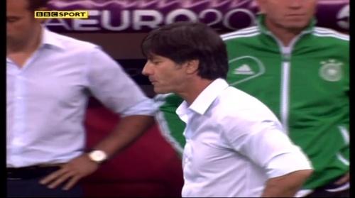 Joachim Löw & Hansi Flick – Germany v Italy (2012) 5