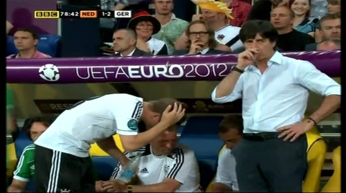 Joachim Löw & Hansi Flick – Holland v Germany (2012) 10