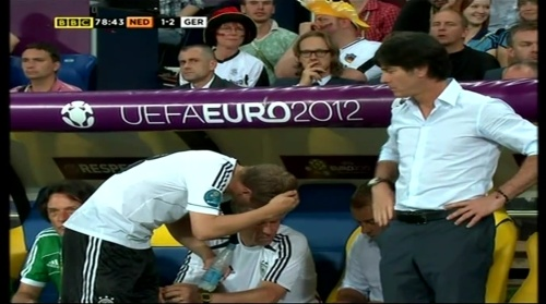 Joachim Löw & Hansi Flick – Holland v Germany (2012) 11