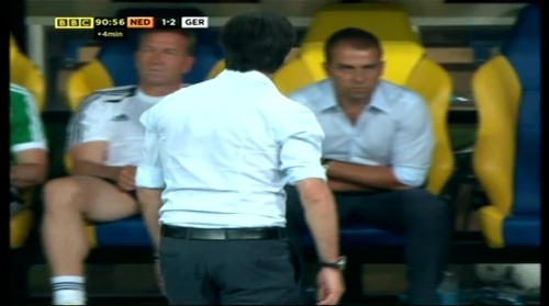 Joachim Löw & Hansi Flick – Holland v Germany (2012) 13