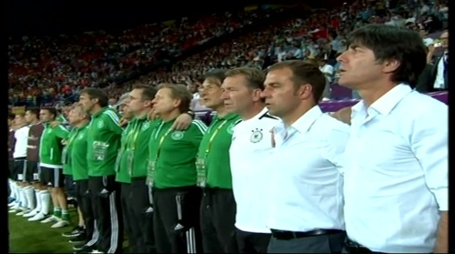 Joachim Löw & Hansi Flick – Holland v Germany (2012) 2
