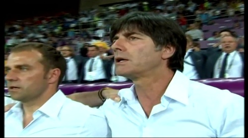 Joachim Löw & Hansi Flick – Holland v Germany (2012) 3