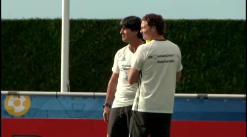 Joachim Löw & Marcus Sorg – Training 1