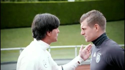 Joachim Löw & Toni Kroos - Evian - Die Vorbereitung 2
