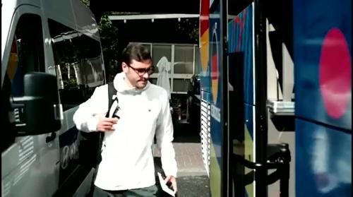 Jonas Hector - Vor Polen-Spiel - Anreise nach Paris