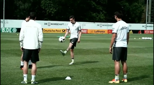 Julian Draxler - Das letzte Training in Ascona 1