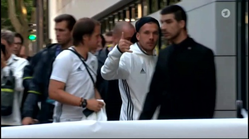 Lukas Podolski - Sportschau 15-06-16