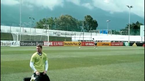 Manuel Neuer - Das letzte Training in Ascona