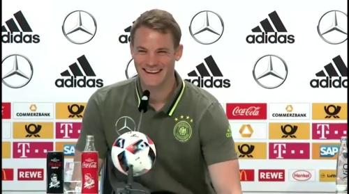 Manuel Neuer – PK 24-06-16 2