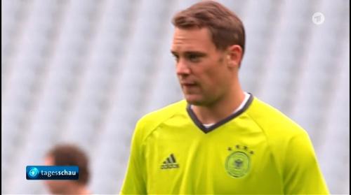 Manuel Neuer – Tageschau 15-06-16 2