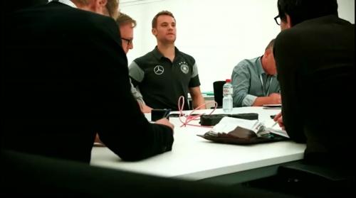 Manuel Neuer - Mannschaft photo & Medientag