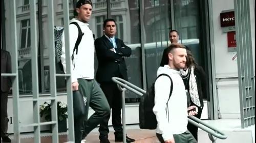 Manuel Neuer & Shkodran Mustafi - Die Mannschaft zurück in Evian