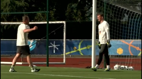 Manuel Neuer - Training 2