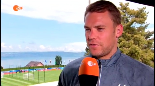 Manuel Neuer - ZDF video 10-06-16 2