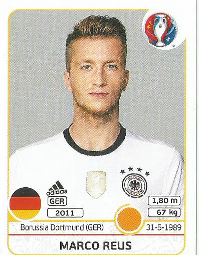 Marco Reus - Germany - Euro 2016 sticker