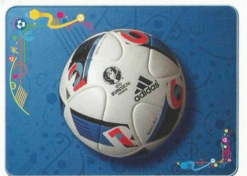 Official match ball - Euro 2016 sticker