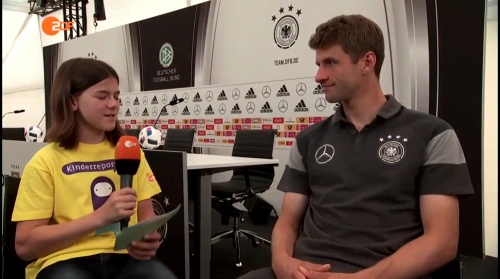Thomas Müller Interview 1