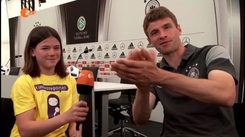 Thomas Müller Interview 6