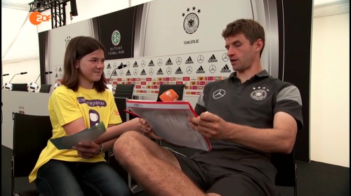 Thomas Müller Interview 7