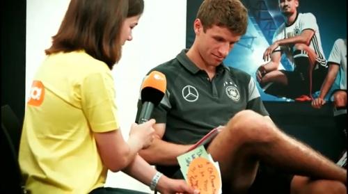 Thomas Müller - Mannschaft photo & Medientag 1
