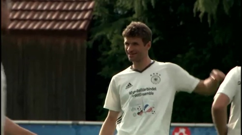 Thomas Müller - Training 1