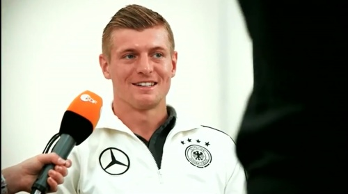Toni Kroos - Mannschaft photo & Medientag