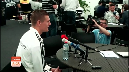 Toni Kroos - Morgenmagazin 03-06-16 2
