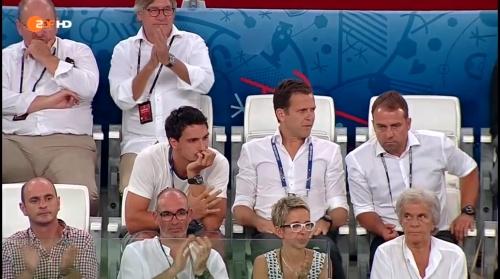 Hansi Flick at Deutschland v Frankreich (EM 2016) 7