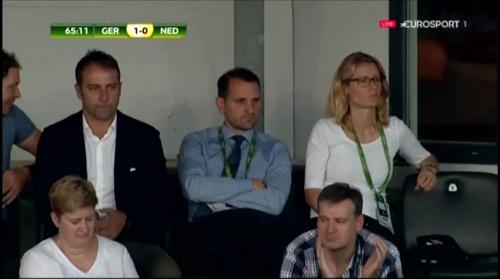 Hansi Flick at Deutschland v Niederlande (U19 EM 2016) 1