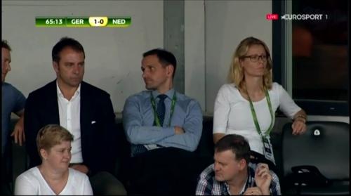 Hansi Flick at Deutschland v Niederlande (U19 EM 2016) 2