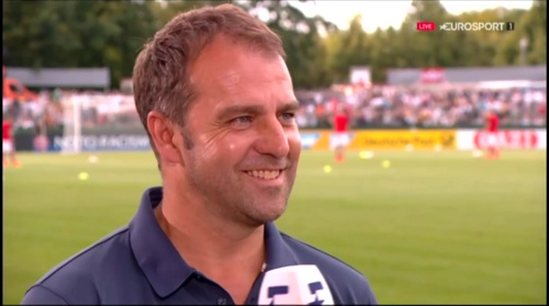 Hansi Flick interivew - Österreich v Deutschland (U19 EM 2016) 2