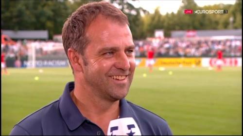 Hansi Flick interivew - Österreich v Deutschland (U19 EM 2016) 3