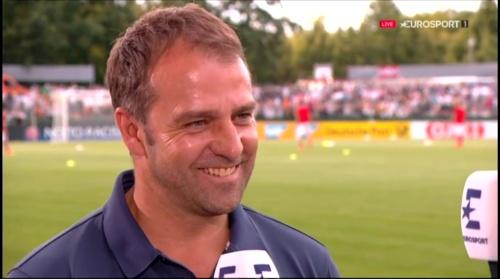 Hansi Flick interivew - Österreich v Deutschland (U19 EM 2016) 4