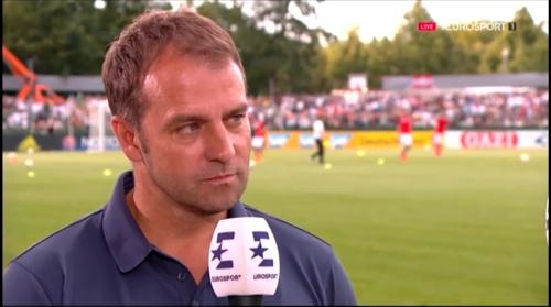 Hansi Flick interivew - Österreich v Deutschland (U19 EM 2016) 5