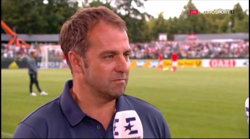 Hansi Flick interivew - Österreich v Deutschland (U19 EM 2016) 6