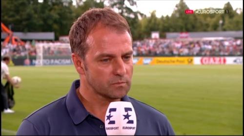 Hansi Flick interivew - Österreich v Deutschland (U19 EM 2016) 7