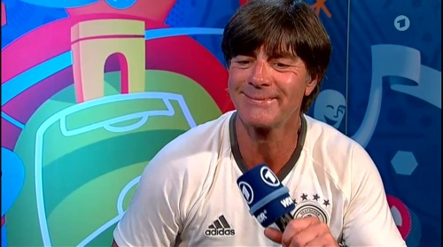 Joachim Löw ARD Interview 06-07-16 2