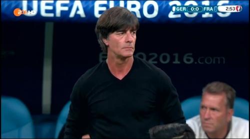 Joachim Löw – Deutschland v Frankreich 1st half (EM 2016) 10
