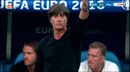 Joachim Löw – Deutschland v Frankreich 1st half (EM 2016) 11