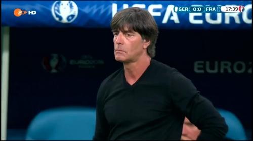 Joachim Löw – Deutschland v Frankreich 1st half (EM 2016) 12